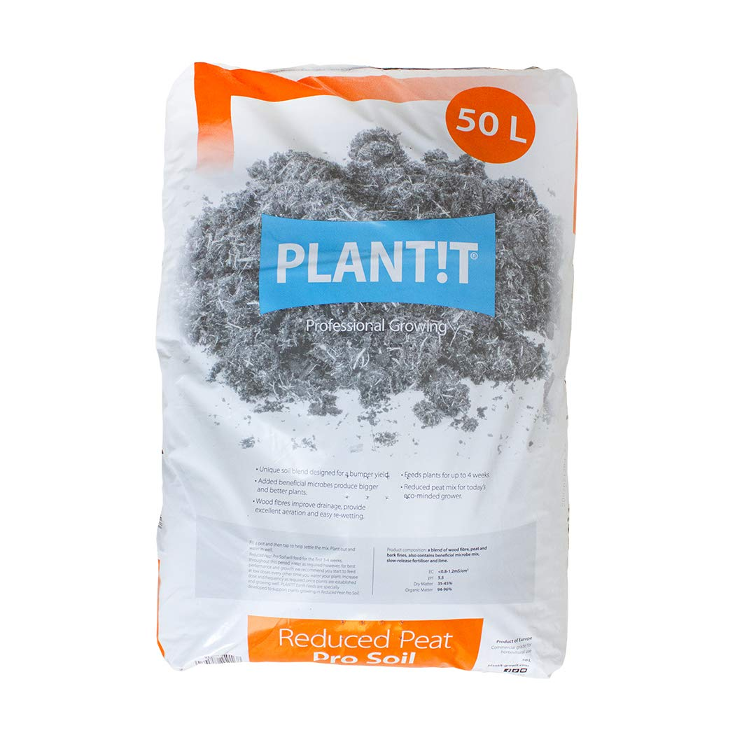 PLANT IT PLANTT Reduced Peat Pro Soil-50L Bag Bolsa de ...