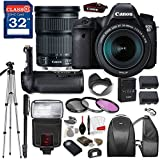 Canon EOS 6D DSLR Camera with Canon EF 24-105mm f/3.5-5.6 IS STM Lens, TTL Flash, Tripod, Mono-Pod, Battery Grip + Professional Accessory Bundle