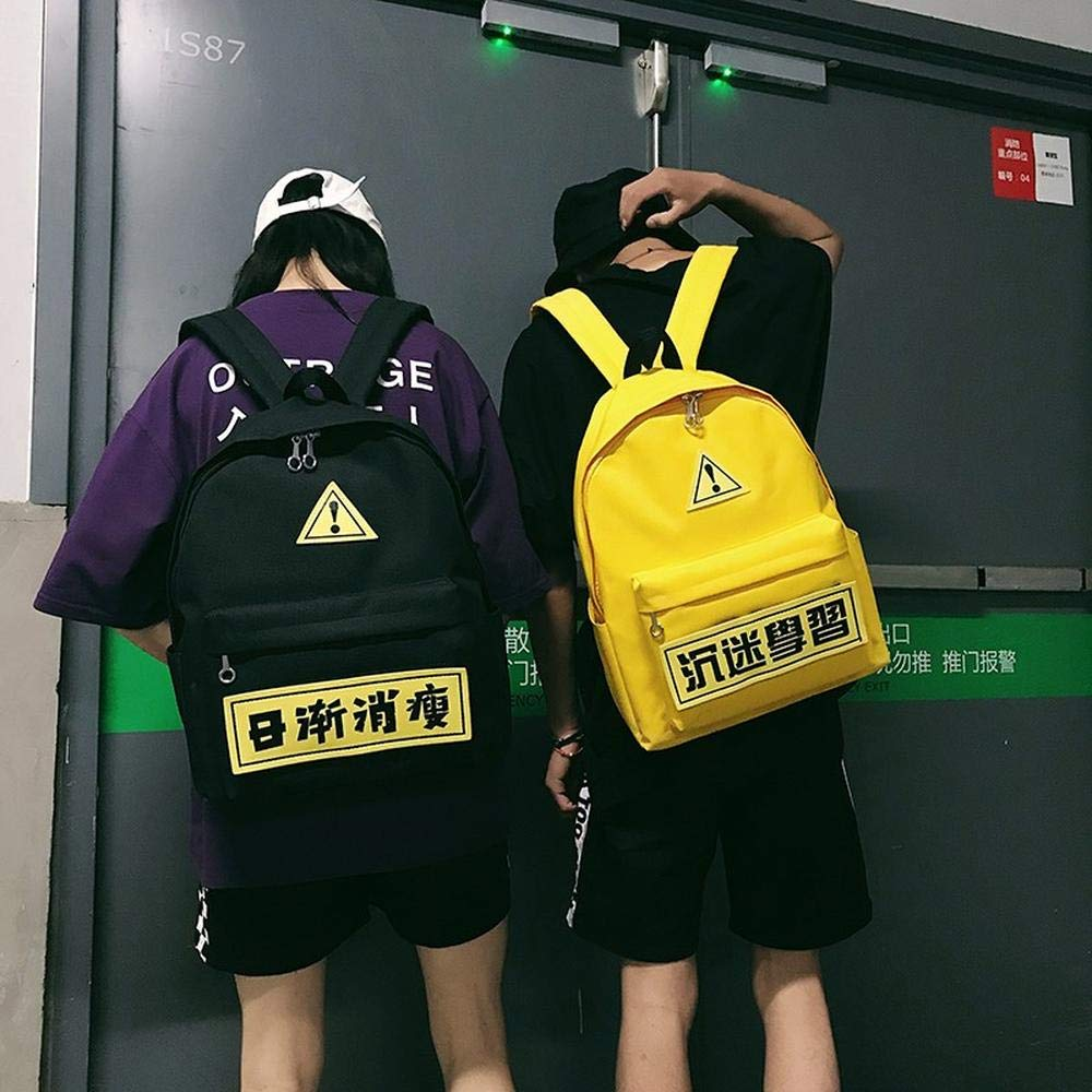 Black [send four brand names] [can be used] CYCY Mendanto school bag male Korean version of the trend of wild casual student bag black [send four brand name] [can be used]