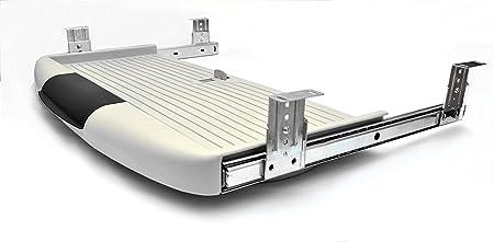 De clavier tiroir Rails coulissant tiroirs montage noir