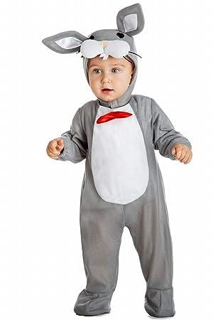 Disfraz Conejo Gris 7-12 m: Amazon.es: Juguetes y juegos