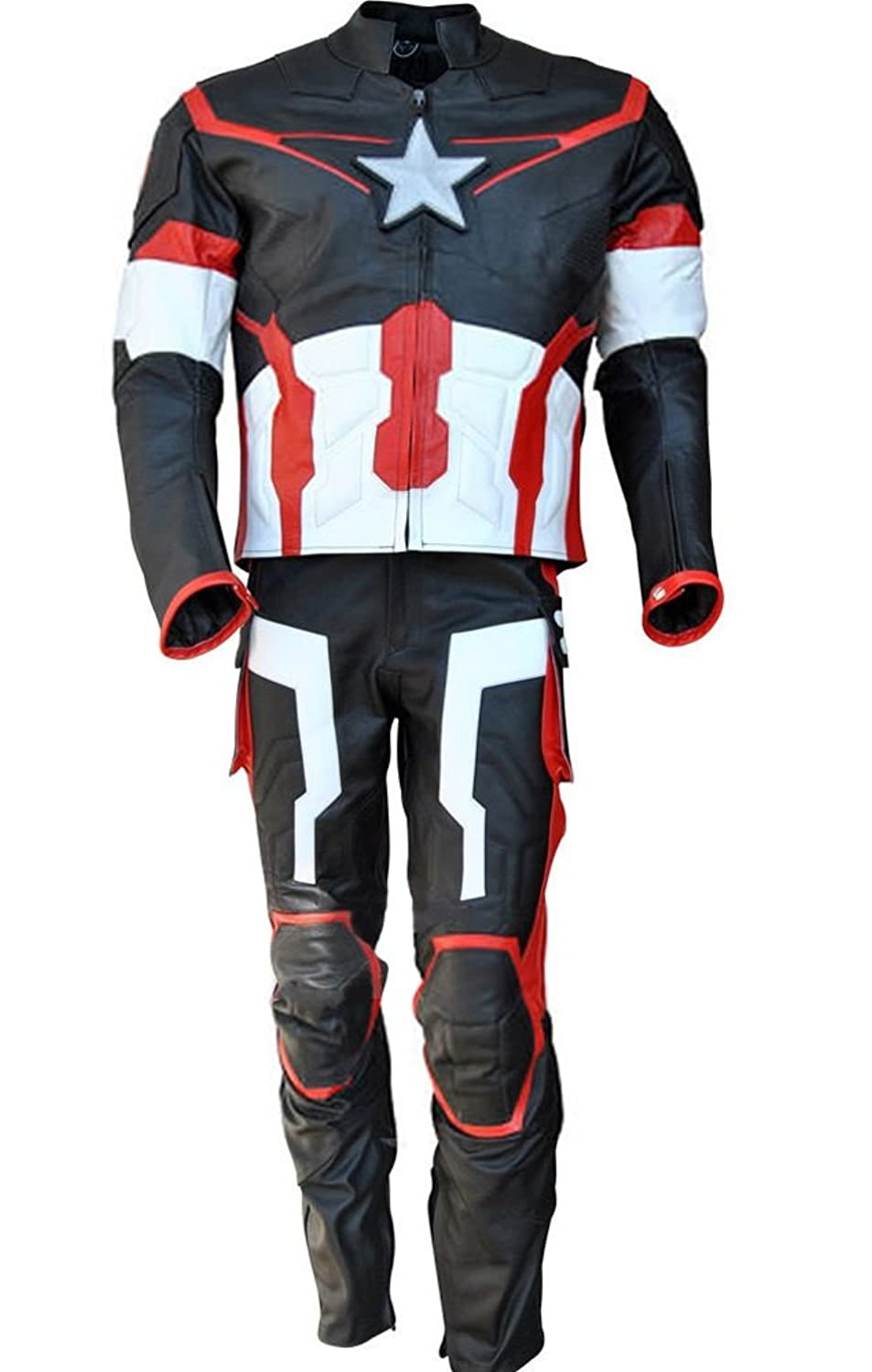 Captain America Deluxe Men Costumes Deluxe Theatrical Quality