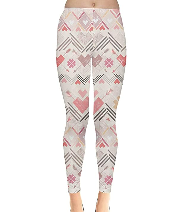 d5bbb3669a635 Amazon.com: CowCow Womes Stretchy Tights Red Happy Valentines Day Heart Love  Couple Sweet Leggings, XS-5XL: Clothing