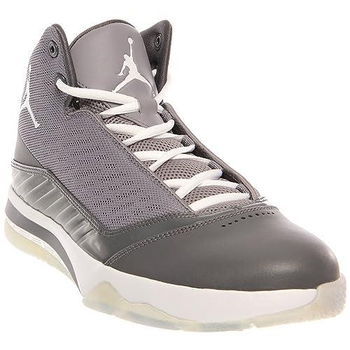 0955c696276bd6 Jordan Nike Air Melo B MO Mens Basketball Shoes 580590-003 Dark Grey ...