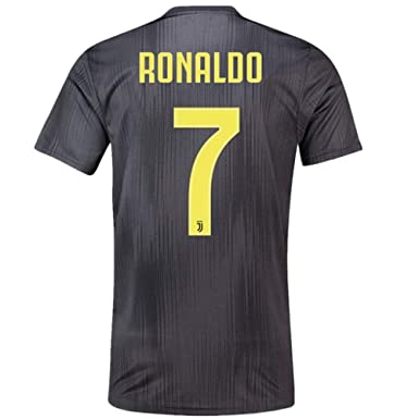 premium selection 74ad2 529be Ronaldo 7 Juventus 2018/2019 Away Men's Soccer Jersey