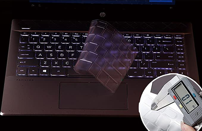 Amazon.com: for HP Pavilion x360 14 Keyboard Cover Soft-Touch Clear Protective Skin for HP Pavilion x360 14M-BA 14M-BW Series/2018 HP Pavilion 14