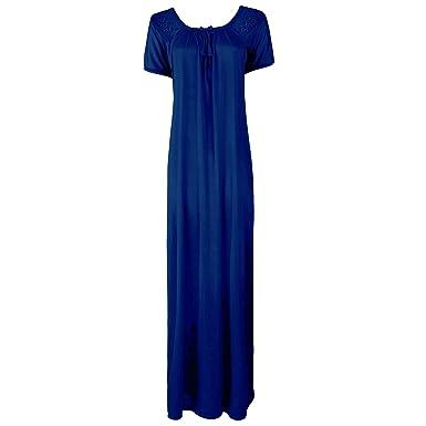 525ed9cd35 The Orange Tags New Ladies Plus Size Black Long Nightdress Nightie Lounger  Plus Size 8-