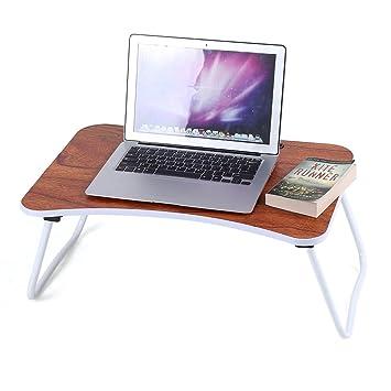 Mesa de Mesa Plegable portátil para Ordenador portátil, Bandeja de Desayuno: Amazon.es: Electrónica