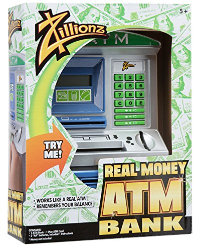 Zillionz Savings Teller ATM Bank