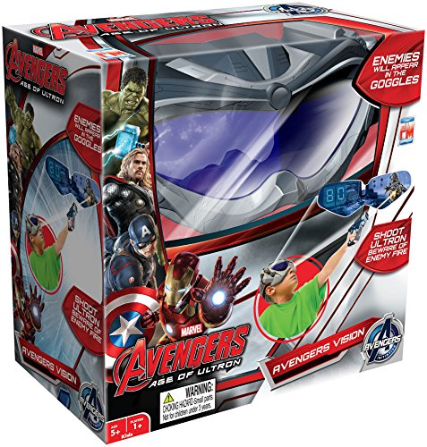 Marvel Avengers Age of Ultron - Avengers Vision Goggles Game (Virtual Reality for Kids)