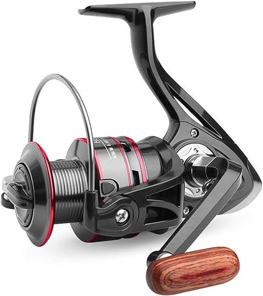 Carrete de Pesca, Spinning Carretes de Pesca Mango Piezas Agua ...