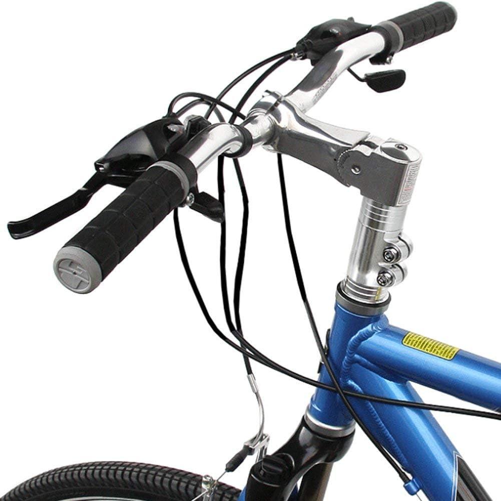 Elevador de Manillar de Bicicleta de monta/ña para Manillar de Bicicleta Elevador de Manillar Vertical Negro HOMYY MTB