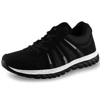 Lancer Indus Mens Sports Running Shoes Black Buy Online At Low