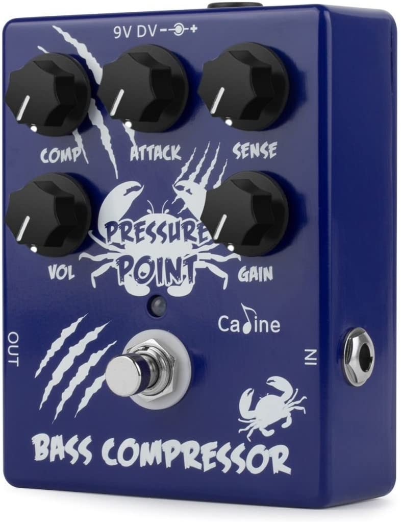 Caline CP-45 Pressure Point Bass Compressor Designed Specifically for Bass Register Response New 2018