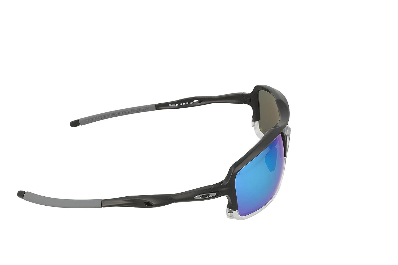 dea158ef3473a Amazon.com  Oakley Men s Triggerman Polarized Iridium Rectangular, Matte  Black 58.5 mm  Clothing