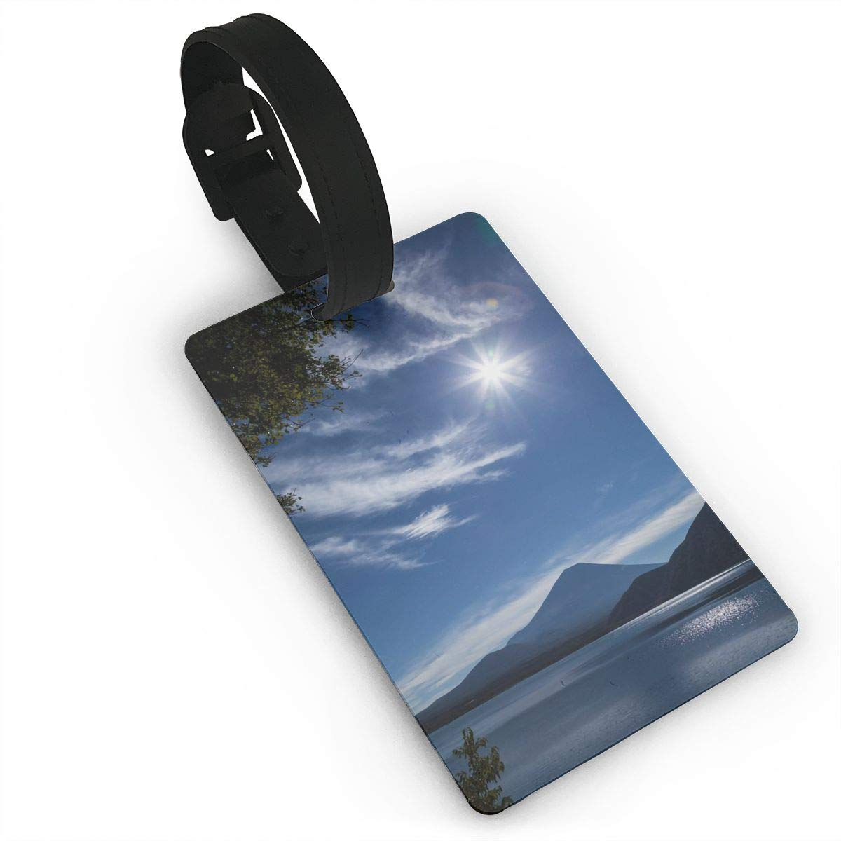 2 Pack Luggage Tags Mount Fuji Cruise Luggage Tag For Suitcase Bag Accessories