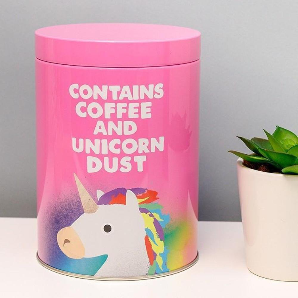 Jolly Awesome contiene polvo de café y unicornio lata Half Moon Bay