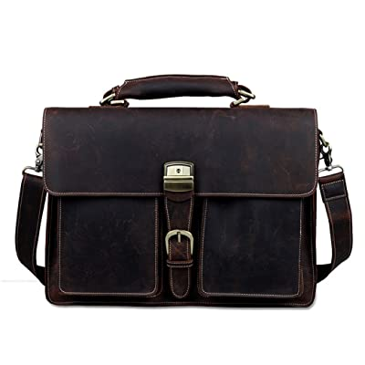 leather briefcase Dark brown slim laptop case saddleback leather classic briefcase