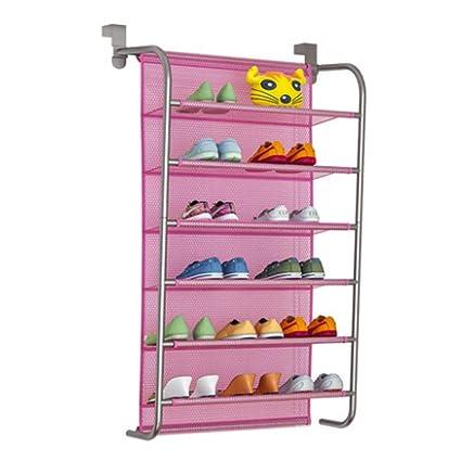 Wall Mounted Shoe Storage.Amazon Com Fitlyiee 6 Tier Wall Mounted Hanging Shoe