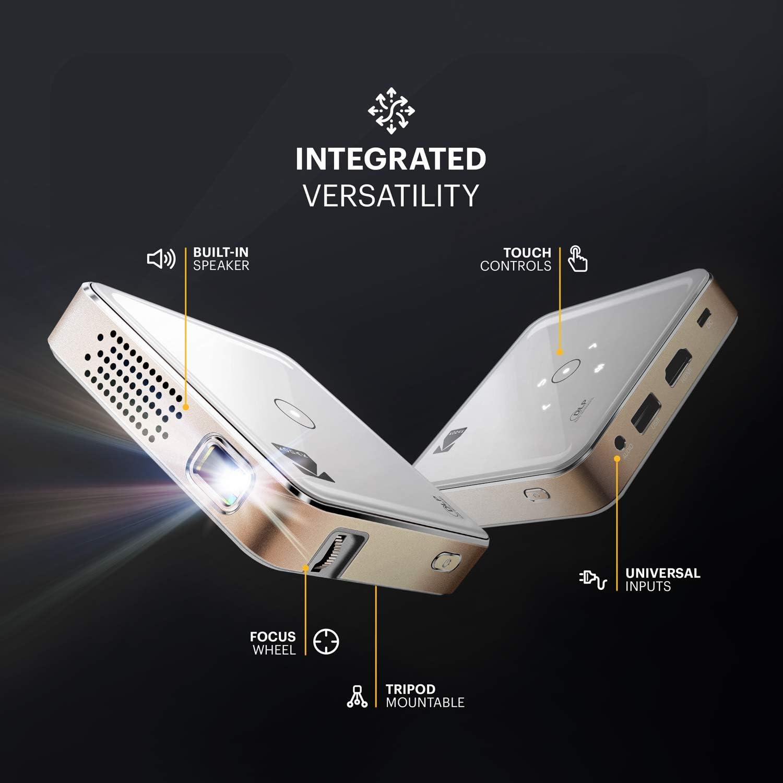 Kodak Ultra Mini Proyector portátil de 75 lúmenes - HD LED DLP ...