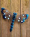 Eye Catching Solar Garden Wall Hangings (Dragonfly)
