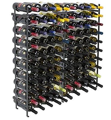 Sorbus Wine Display Rack Large Capacity Wobble-Free Wine Shelves, Wine Storage Stand for Bar, Basement, Wine Cellar, Kitchen, Dining Room, etc