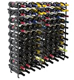 Cheap Sorbus Wine Display Rack [100 Bottle] Large Capacity Wobble-Free Wine Shelves, Wine Storage Stand for Bar, Basement, Wine Cellar, Kitchen, Dining Room, etc (10-Tiers, 100 Bottles)