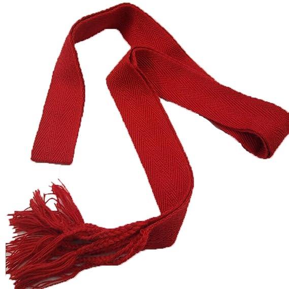 AmaMary ❤️❤️❤️ rojo Fajín con borla para San Fermin: Amazon ...