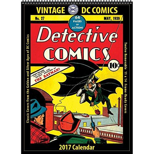DC Comics Vintage Wall Calendar (Asgard Press compare prices)
