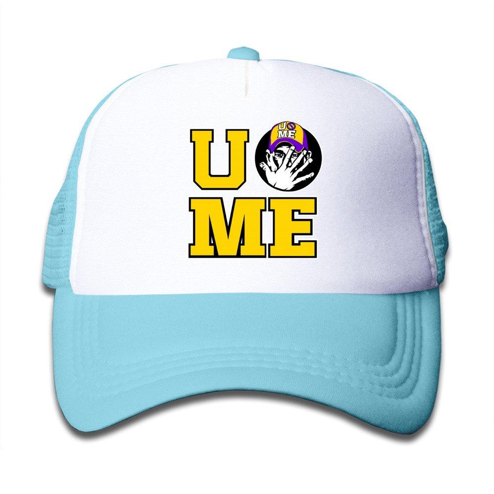 promo code c338f e98e2 ... get amazon personalized wwe john cena for kids mesh cap skyblue  clothing 35fe8 65f27