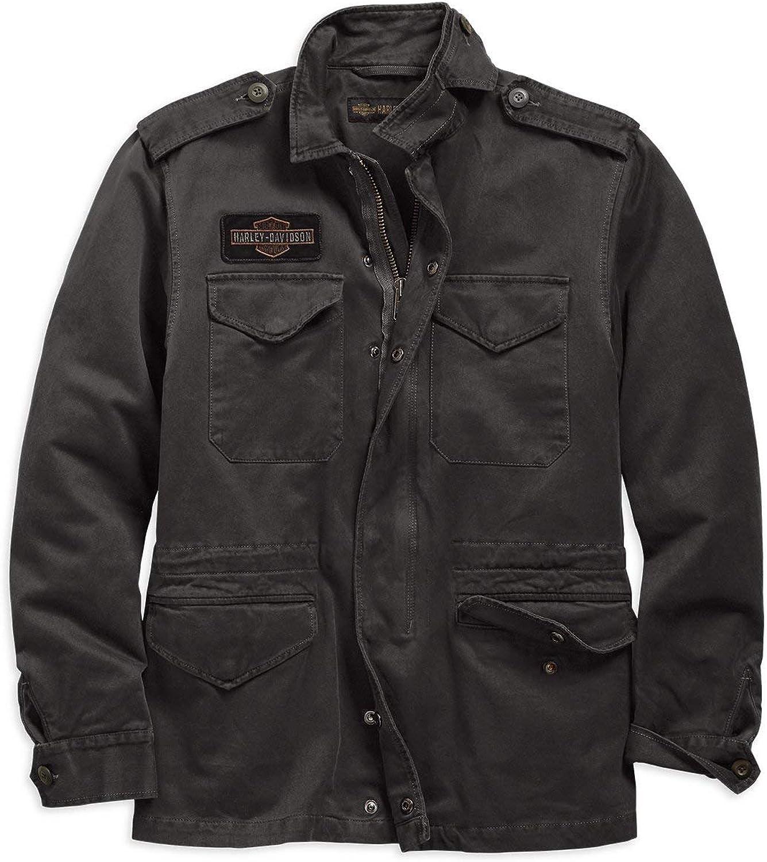 Harley Davidson Men S Logo Slim Fit Field Jacket 98594 19vm Bekleidung