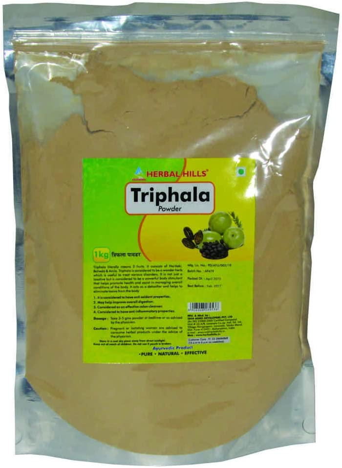 Herbal Hills Triphala Powder – 1 kg Pouch