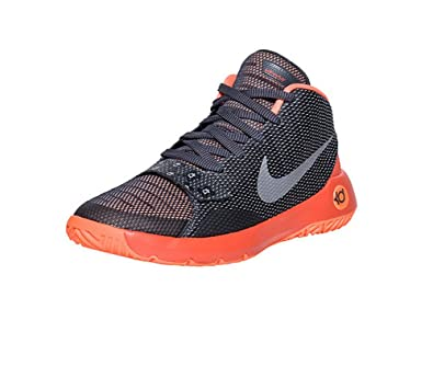 Nike KD TREY 5 III (GS) boys fashion-sneakers- ANTHRACITE/TOTAL