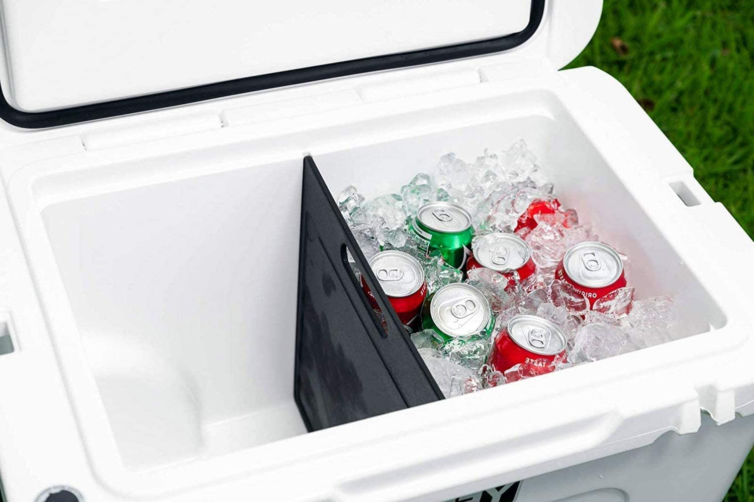 Yeti 105 & 125 Cooler Divider & Cutting Board - Improved Design That is Specifically Designed to Only Fit The Yeti Tundra 105 and Yeti Tundra 125 Coolers