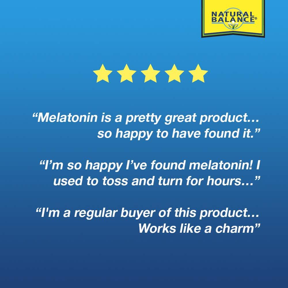 Amazon.com: Natural Balance Super Melatonin Plus Herbal Supplement ...