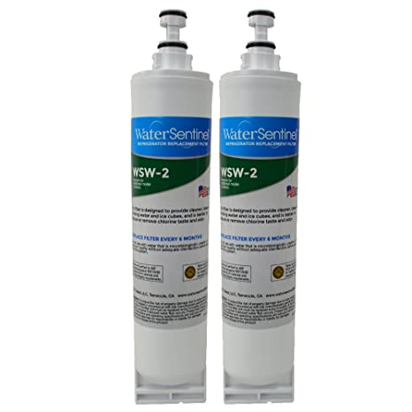 WaterSentinel WSW-2 Refrigerator Replacement Filter: Fits Whirlpool on