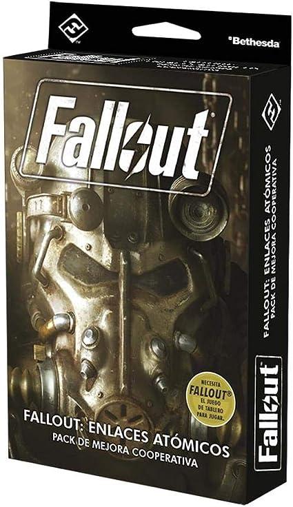 Fall out el Juego de Mesa: Expansión Enlaces atómicos Pack de Mejora Cooperativa: Amazon.es: Juguetes y juegos