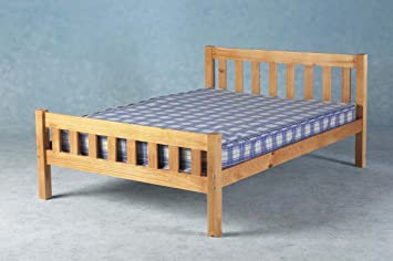 Comfy Living King Size 5ft Wooden Bed Frame Carlow Amazoncouk