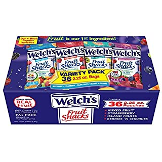 Welch's Fruit Snacks, Variety Pack, 36 Count
