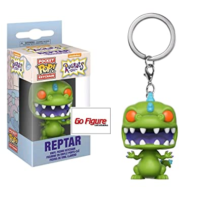 Funko POP Keychain: Reptar - Nickelodeon Rugrats - FYE Exclusive: Toys & Games [5Bkhe0901193]