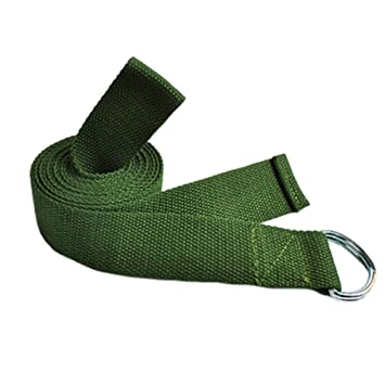 Amazon.com : Set of 2 Cotton Yoga Strap Pilates Stretch ...