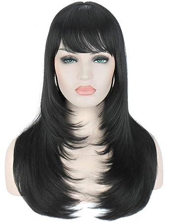 Kalyss Yaki Synthetic Women's Wig With Hair