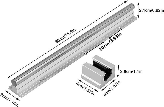 20/mm Hgh20ca ouvert lin/éaire Roulement /à billes Slide Block Carrosse coulissant pour rail Guide CNC