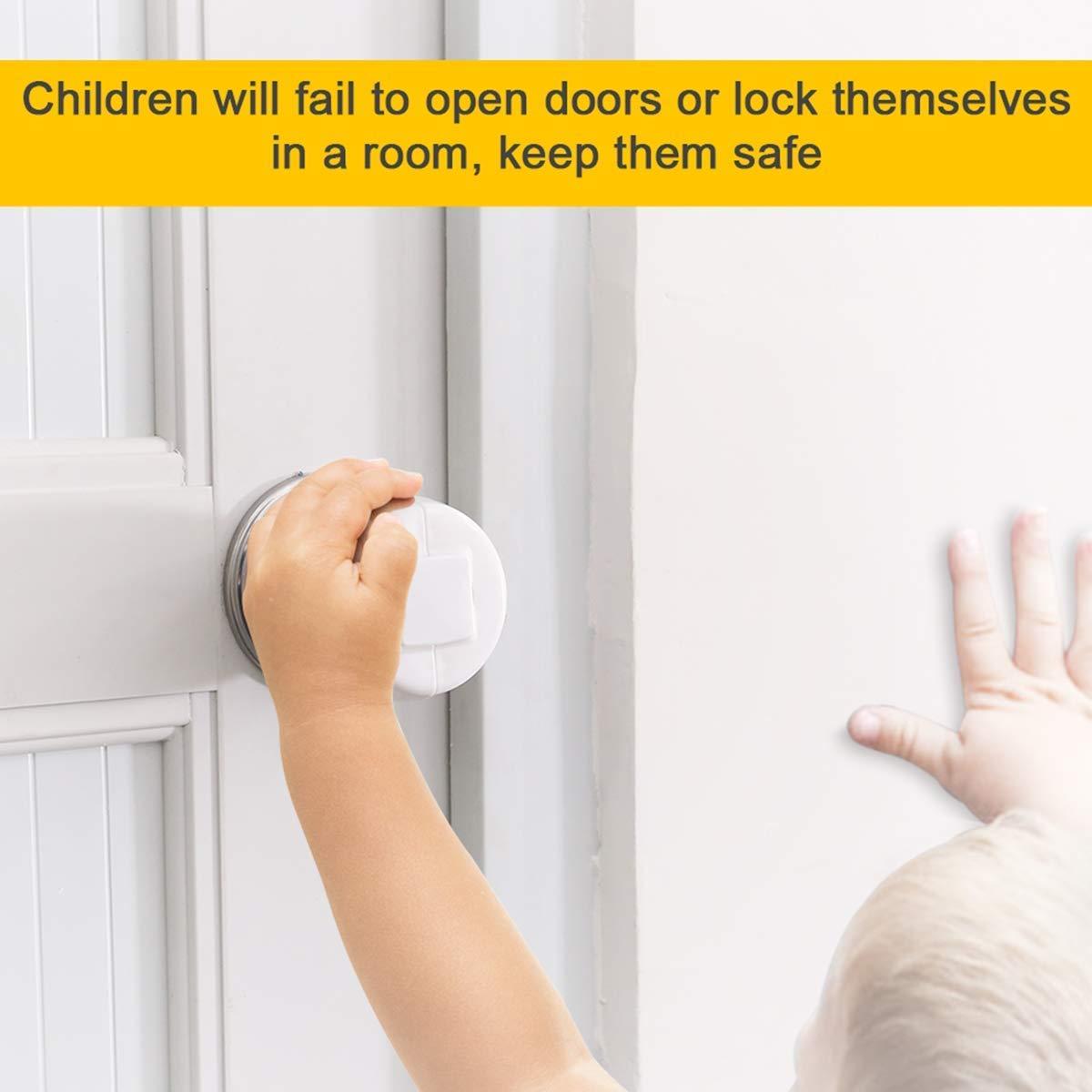 2019 Upgrade BOOGO Child Safety Cupboard Lock Stick On Child Lock for Kitchen Cupboard Self Adhesive Baby Proofing Cabinet Latch Children Proof Latch for Door,Drawer,Closet,Fridge,Refrigerator,Trash