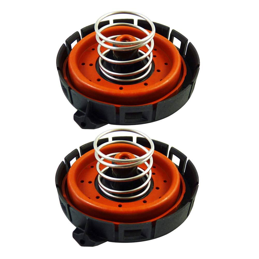 2 Pieces PCV Valve Pressure Regulating Valve for BMW 545i 550i 645ci 650i 745Li 745i 750i 750Li X5 Dade