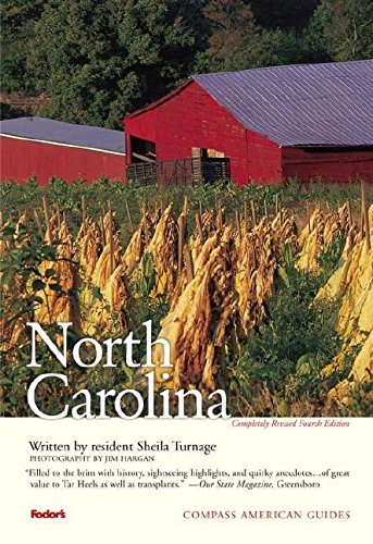 Compass American Guides  North Carolina 4th Edition  Full Color Travel Guide Band 4