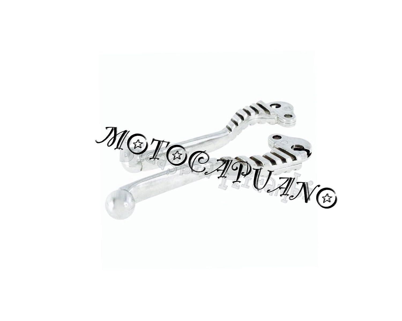 Palancas de freno embrague sagomate cromado Racing Vespa 125 150 200 PX T5: Amazon.es: Coche y moto