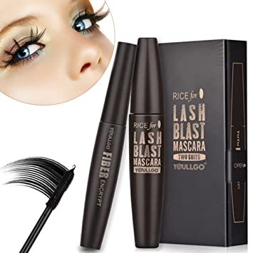 3D Fiber Lash Mascara, 3D Fiber Lashes, Lasting All Day, waterproof, smudge