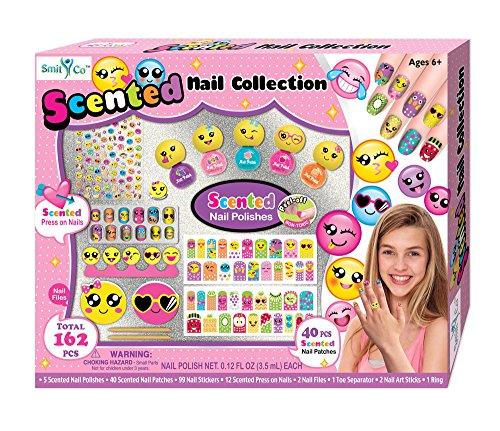 Amazing Shine Nail Art Kit Review: Emoji Nail Art Kit