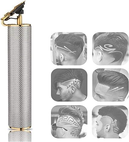 Máquina de afeitar eléctrica para hombres, máquina de afeitar ...